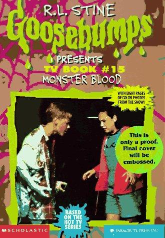 9780590305471 Monster Blood Goosebumps Presents Tv Book 15 Abebooks Elizabeth Winfrey Rick Drew R L Stine 0590305476