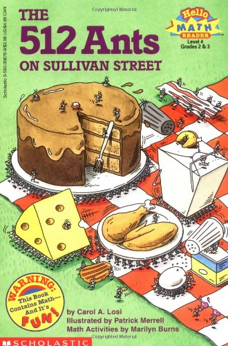 512 Ants on Sullivan Street (Hello Reader, Math, Level 4, Grade 2 & 3): Losi, Carol