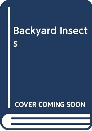 9780590308953: Backyard Insects