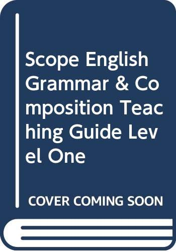 9780590314145: Scope English Grammar & Composition Teaching Guide Level One