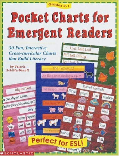 9780590314701: Pocket Charts for Emergent Readers: 30 Fun, Interactive Cross-Curricular Charts That Build Literacy (Grades K-1)