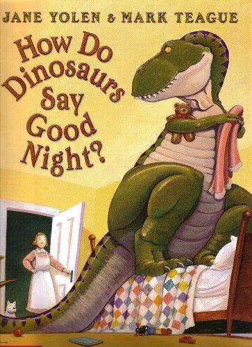 9780590316828: [(Do Dinosaurs Say Good Night, How )] [Author: Jane Yolen] [May-2000]