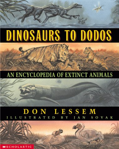 9780590316842: Dinosaurs to Dodos: An Encyclopedia of Extinct Animals