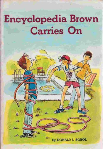 9780590317900: Encyclopedia Brown Carries On