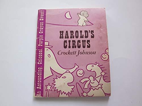 9780590319027: harold's circus