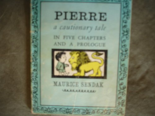9780590319454: Pierre: A Cautionary Tale in Five Chapters and a Prologue