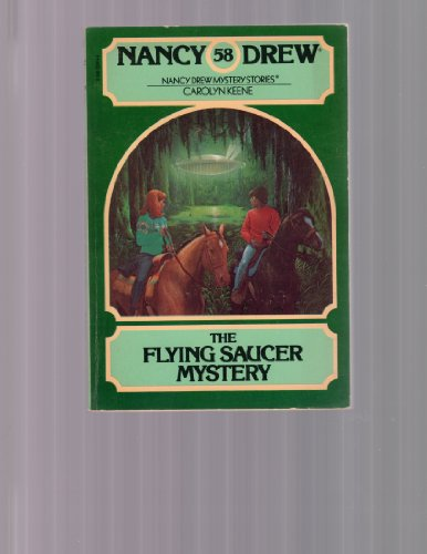 9780590324144: Nancy Drew and the Flying Saucer Mystery