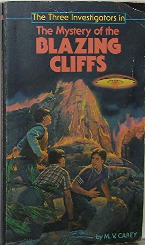 9780590325035: The Mystery of the Blazing Cliffs