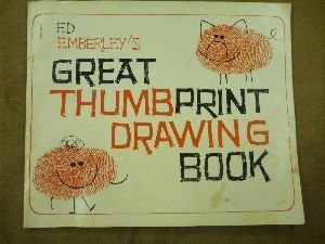 9780590326506: Ed Emberley's Great Thumbprint Drawing Book
