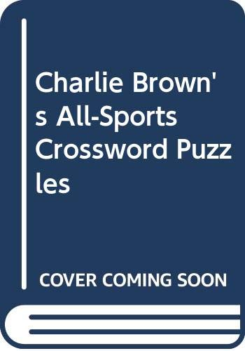 9780590327954: Charlie Brown's All-Sports Crossword Puzzles
