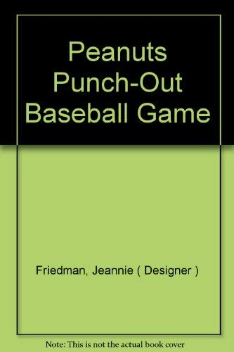 9780590327985: Peanuts Punch-Out Baseball Game
