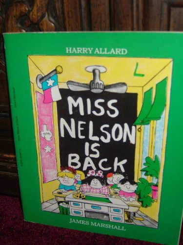 9780590334679: Miss Nelson is Back