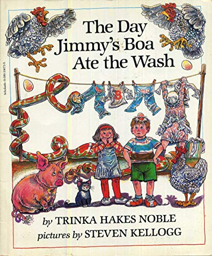 9780590336727: The Day Jimmy's Boa Ate the Wash
