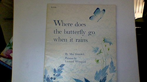 9780590336826: Where Does the Butterfly Go When It Rains
