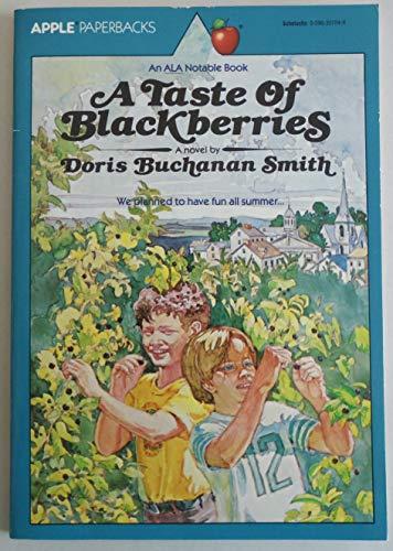 9780590337847: A Taste of Blackberries