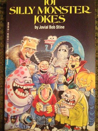 9780590338899: 101 Silly Monster Jokes