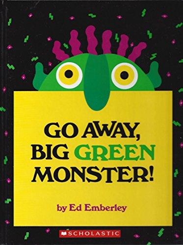 9780590341189: Go Away, Big Green Monster!