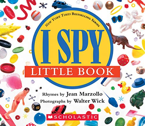 9780590341295: I Spy Little Book