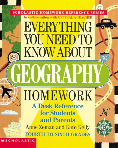 9780590341721: Everything You Need To Know About Geography Homework (Evertything You Need To Know..)