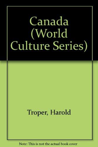 Canada (World Culture Series): Troper, Harold