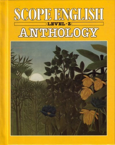Scope English Anthology (0590346156) by Jane Yolen