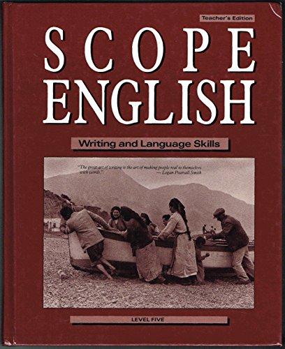 Scope English: Writing and Language Skills (Level: Scholastic Scope Editors;