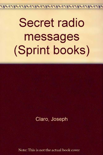 9780590351942: Secret radio messages (Sprint books)