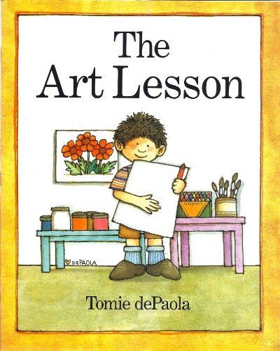 9780590367950: The Art Lesson