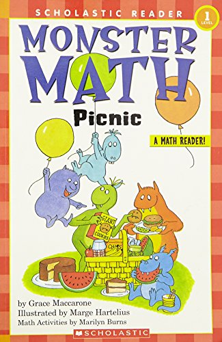 9780590371278: Scholastic Reader Level 1: Monster Math Picnic