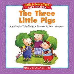 9780590373456: The three little pigs (Scholastic phonics readers)