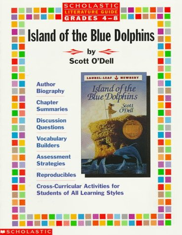 9780590373555: Literature Guide: Island of the Blue Dolphins (Grades 4-8)