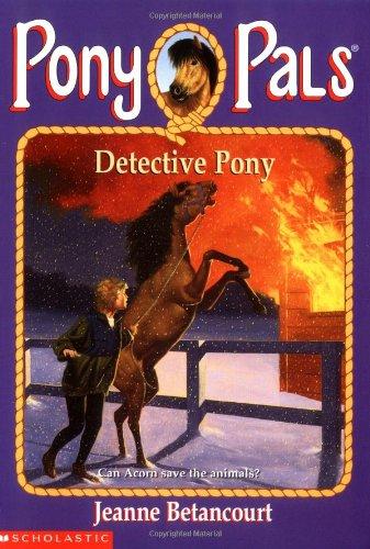 9780590374606: Detective Pony (Pony Pals #17)