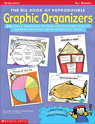9780590378840: Big Book of Reproducible Graphic Organizers: 50 Great Templates That Help Kids Get More Out of Reading, Writing, Social Studies, & More!