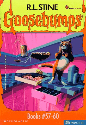 9780590390545: Goosebumps Boxed Set, Books 57 - 60: My Best Friend Is Invisible, Deep Trouble II, The Haunted School, and Werewolf Skin