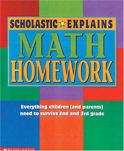 9780590397575: Scholastic Explains Math Homework