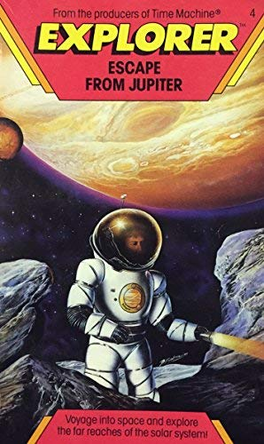 9780590403399: Escape from Jupiter (Explorer No. 4)