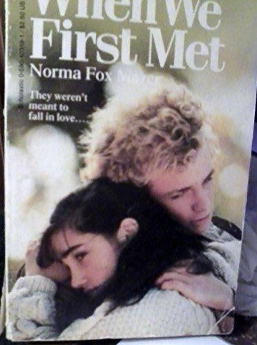 9780590403597: When We First Met