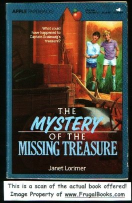 9780590404907: The Mystery of the Missing Treasure