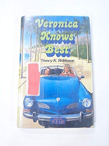 9780590405096: Veronica Knows Best