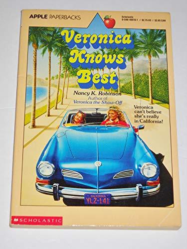 9780590405102: Veronica Knows Best