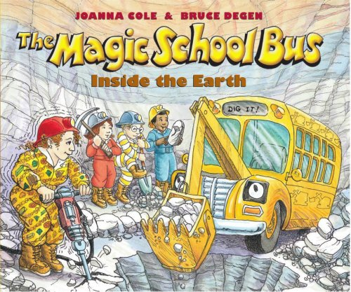 9780590407595: The Magic School Bus Inside the Earth