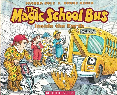 9780590407601: The Inside the Earth (the Magic School Bus)