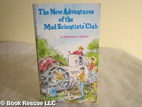 9780590408806: New Adventures of the Mad Scientists Club