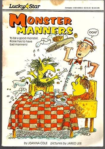 9780590409261: Monster Manners (Hello Reader!: Level 3)