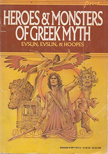 9780590410724: Heroes and Monsters of Greek Myth