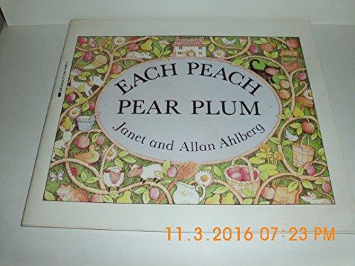 each peach pear plum: ahlberg, janet &