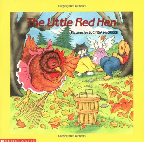 9780590411455: The Little Red Hen (Easy-to-Read Folktales)