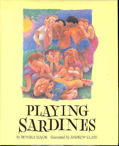 Playing sardines: Beverly Major