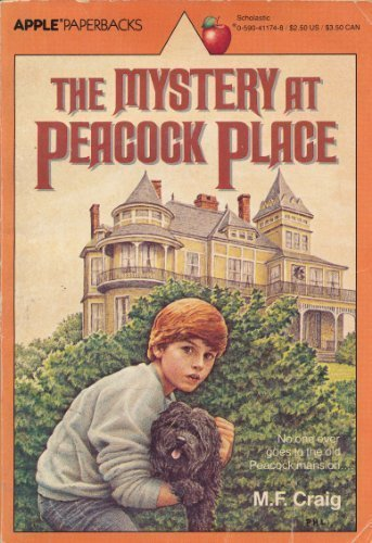 9780590411745: The Mystery at Peacock Place