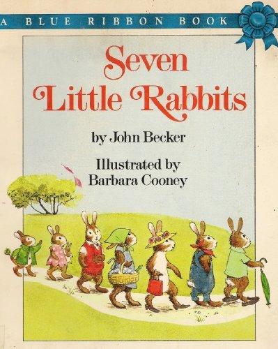 9780590411974: Seven Little Rabbits